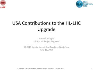 USA Contributions to the HL-LHC Upgrade