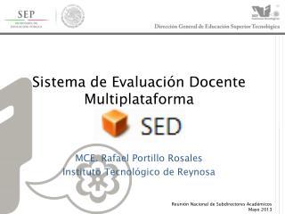 Sistema de Evaluación Docente Multiplataforma