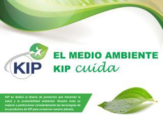 EL MEDIO AMBIENTE  KIP cuida
