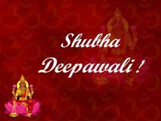 Shubha Deepawali !