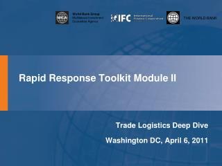 Rapid Response Toolkit Module II
