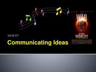 IGCSE ICT