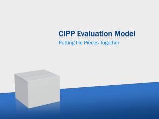 CIPP Evaluation Model
