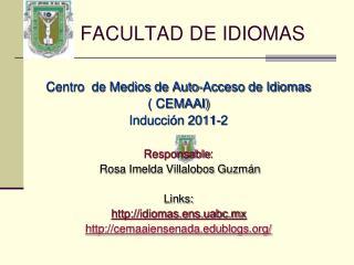 FACULTAD DE IDIOMAS