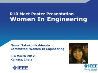 R10 Meet Poster Presentation Women In Engineering