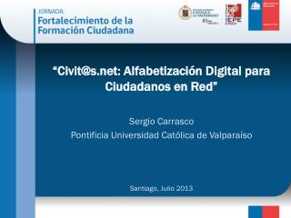 """""""Civit@s: Alfabetización Digital para Ciudadanos en Red"""""""