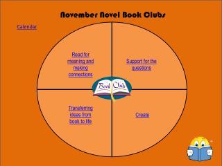 November Novel Book Clubs
