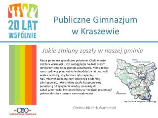 Publiczne Gimnazjum  w  Kraszewie