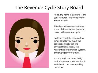 The Revenue Cycle Story Board