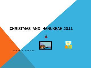 Christmas  and   hanukkah  2011