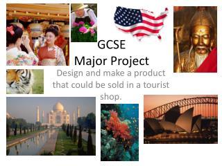 GCSE  Major Project
