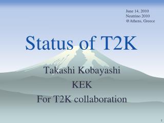 Status of T2K