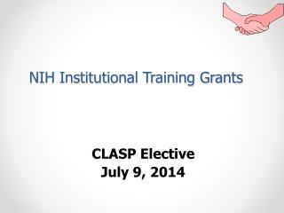 NIH Institutional Training Grants