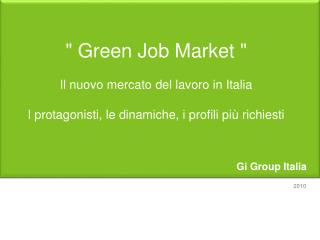 Gi Group Italia