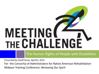 The Human Rights of People with Disabilities