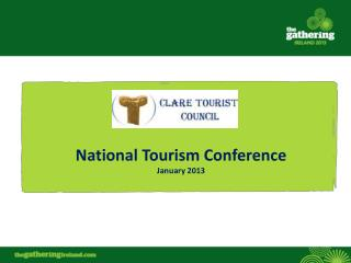 National Tourism Conference January 2013