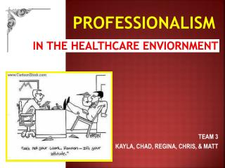 IN  THE  HEALTHCARE ENVIORNMENT