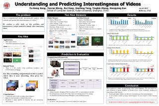 Understanding and Predicting Interestingness of Videos