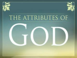 6 Attributes of Jesus