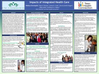 Impacts of Integrated Health Care