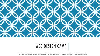 Web Design Camp