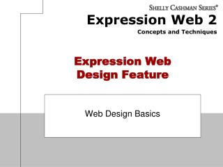 Expression Web Design Feature