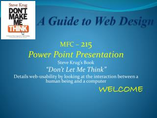 A Guide to Web Design
