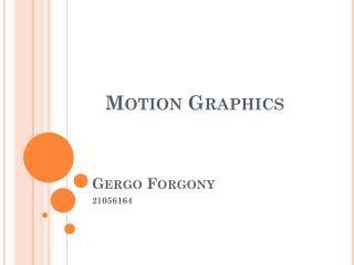 Gergo Forgony