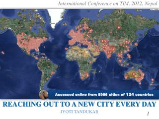 International Conference on TIM, 2012, Nepal