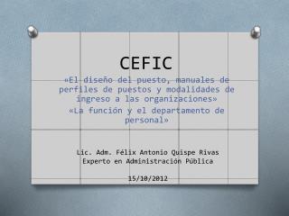 CEFIC