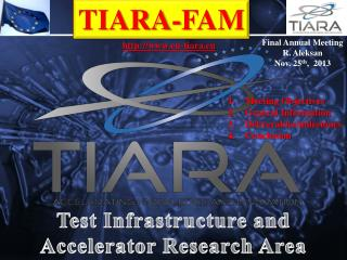 Test Infrastructure and Accelerator Research Area