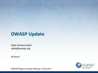 OWASP Update