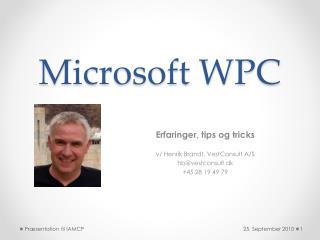 Microsoft WPC