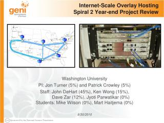 Internet-Scale Overlay Hosting Spiral 2 Year-end Project Review