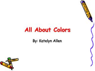 All About Colors