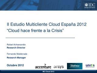 MC Cloud 2012