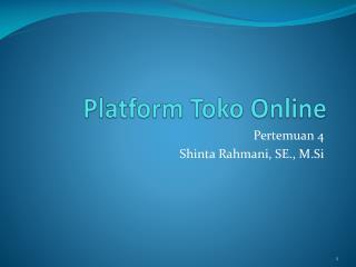 Platform  Toko  Online