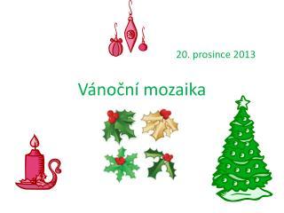 Vánoční mozaika