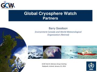 Global Cryosphere Watch Partners