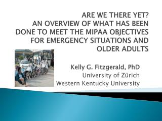 Kelly G. Fitzgerald,  PhD University of Zürich Western Kentucky University