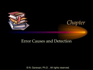 Error Causes and Detection