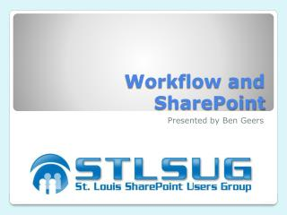 Workflow and SharePoint