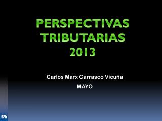 Carlos Marx Carrasco Vicuña MAYO