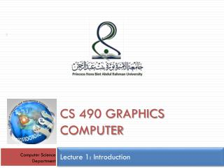 Cs 490 graphics computer