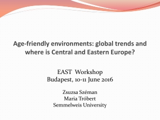 Central  Eastern Europe CEE - Go East