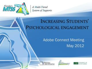 Increasing Students' Psychological engagement