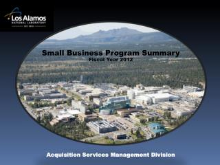 Small Business Program Summary