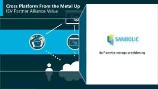 Cross Platform From the Metal Up ISV Partner Alliance Value