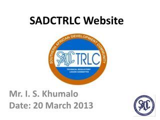 SADCTRLC  Website