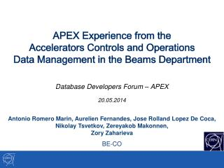 Database Developers Forum – APEX 20.05.2014